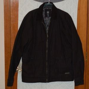 Volcom Black Jacket Zip Up Large